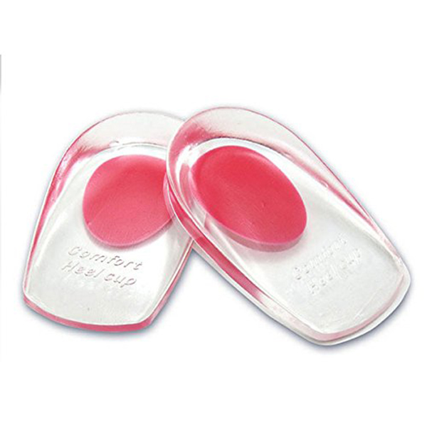 Pair of Foot Care Gel Silicone Shoes Pads Thenar Heel Insoles Cushion Massager Orthotics Bunion Pedicure Feet Care Supports