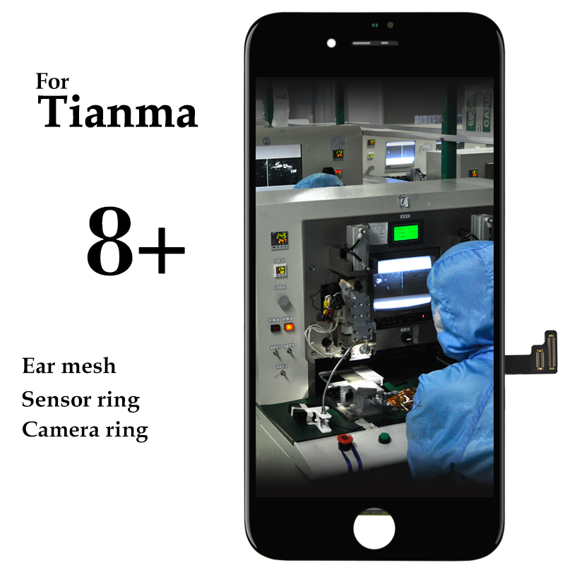10pcs Phone Repair Touch Screen For iPhone 8 Plus LCD Display With 3D Touch Digitizer Assembly
