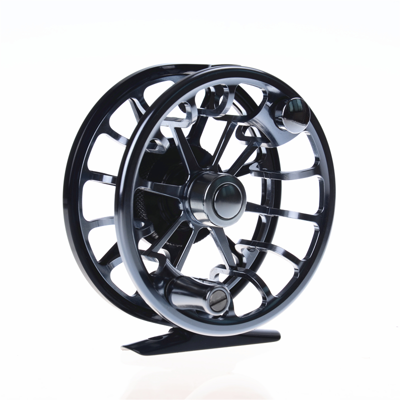 New top quality 3 shaft 146g fly reel 7003-T6 aluminum full metal 5/6#  fly fishing reel fishing tackle блеск для губ brand new 2015 3 5 g 6 hz311