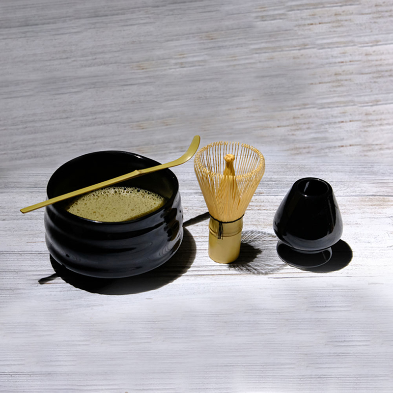 Matcha Tea Sets Japanese Ceremony Matcha Suit Bamboo Whisk Matcha Green Tea Powder Grinder Brushes Tea Tools Holder Accessories