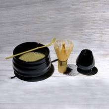 Matcha Tea Sets Japanese Ceremony Matcha Suit Bamboo Whisk Matcha Green Tea Powder Grinder Brushes Tea Tools Holder Accessories