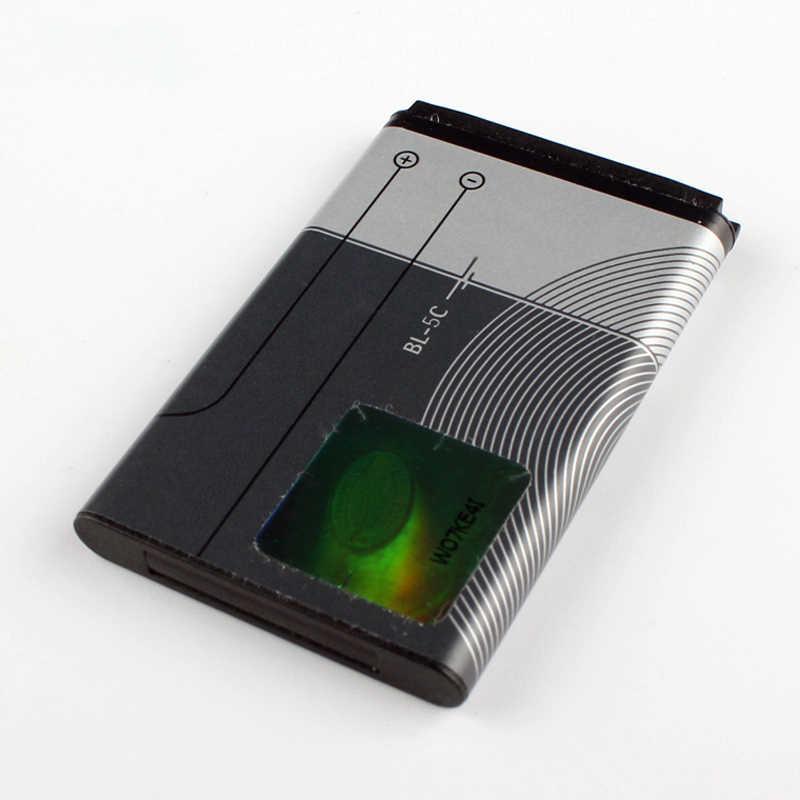 Original bateria do telefone para Nokia 6230i BL-5C N72 N70 5130 2610 C2-01 C2-02 C2-03 C2-06 X2-01 5130 6267 7610 E50 3208C