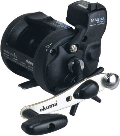 New Free shipping,OKUMA  MAGDA series MA-20DX MA-30DX MA-45DX drum type boat fishing line Reel counter