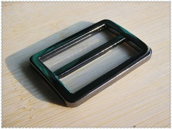 """1.25"""" inch (inner size) Gunmetal alloying Rectangle Strap adjuster sliders 100pcs 3mm thickness"""