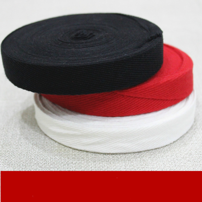 1 8cm cotton twill tape pure cotton tape band tapes ribbons in Webbing from Home Garden