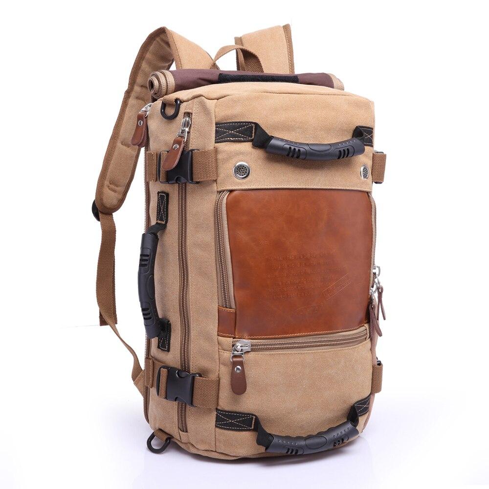KAKA marque élégant voyage grande capacité sac à dos mâle bagages sac à bandoulière ordinateur sac à dos hommes fonctionnels sacs polyvalents