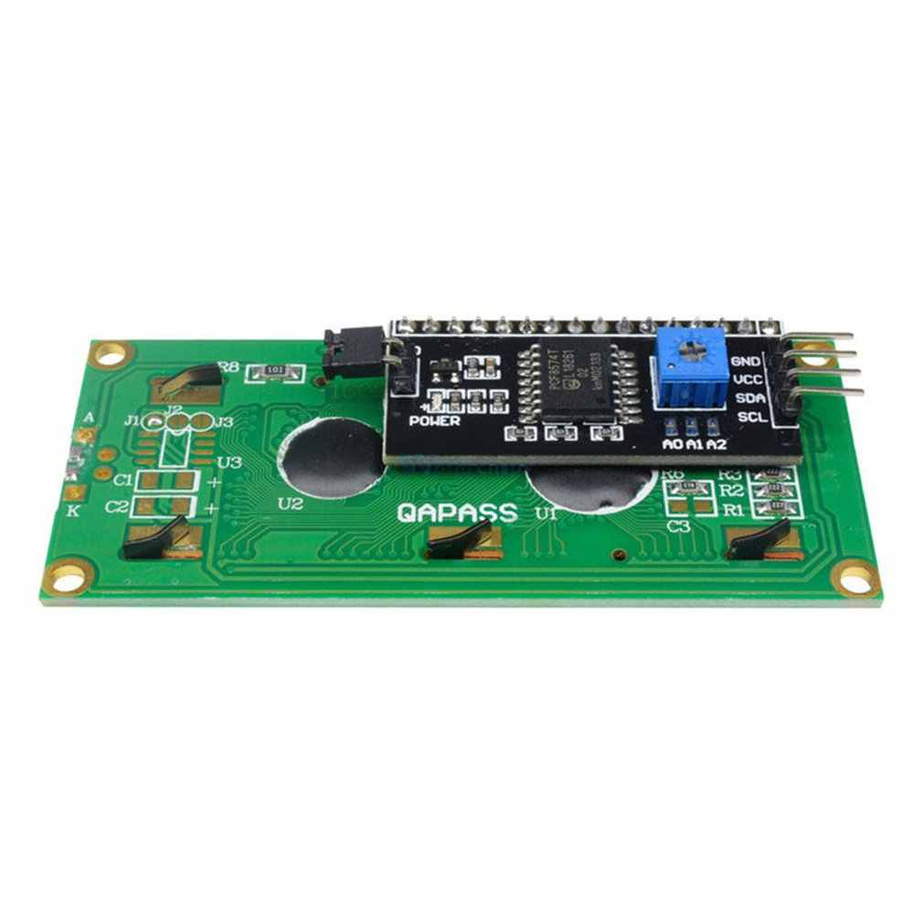 Màu vàng Xanh Adapter Màn Hình Đĩa IIC I2C Giao Diện Mô Đun 1602 Module LCD 1602Lcd Adapter Đĩa Adapter