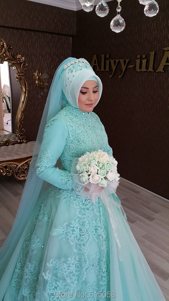Outstanding Islamic Wedding Dresses With Hijab Photos - Womens ...