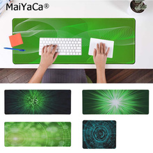 MaiYaCa Your Mats Green Light Customized MousePads Computer Laptop Anime Mouse Mat Free Shipping Large Pad Keyboards