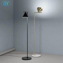 Современная Напольная Лампа золотого и черного цвета в скандинавском стиле, лампа в стиле постмодерн E27 для гостиной, спальни, мраморное освещение