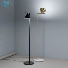 Modern Gold Black Nordic floor lamp living room Ins bedroom postmodern E27 marble standing lighting for living room bedroom
