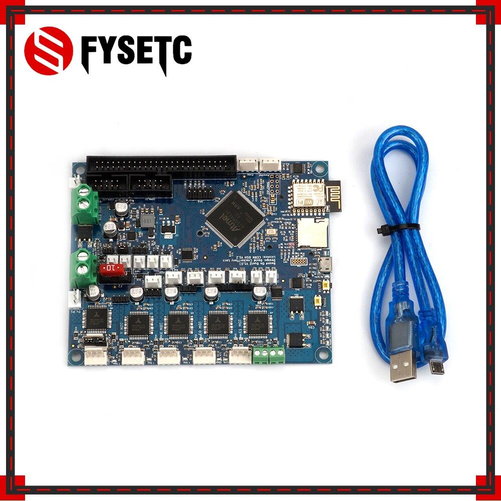 Duet cloné 2 Wifi V1.04 mises à niveau carte contrôleur DuetWifi carte mère 32bit avancée pour BLV MGN Cube 3D imprimante CNC
