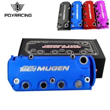 PQY RACING - MUGEN Type R Rocker Valve chamber cover For Honda Civic D16Y8 D16Y7 VTEC SOHC PQY-VCC02 header civic eg