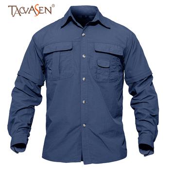 TACVASEN szybkoschnąca koszula męska koszula turystyczna odpinana taktyczna wojskowa koszula z kieszeniami koszula myśliwska koszule wędkarskie Outdoor tanie i dobre opinie Pełna Poliester COTTON Akrylowe Moc suche Oddychająca Szybkie suche 1738 Camping i piesze wycieczki Pasuje prawda na wymiar weź swój normalny rozmiar