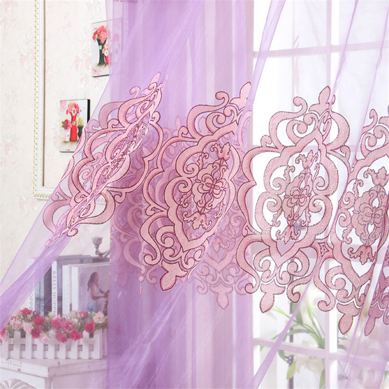 Aliexpress.com : Buy 2017 The New European Classical High Grade Purple  Curtains For Bedroom Window Curtain Kitchen Sheer Curtains For Living Room  From ...