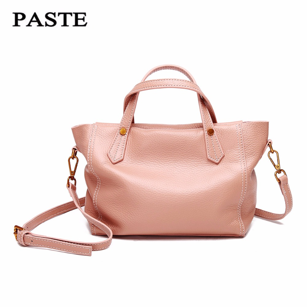 genuine Leather Bag for Women Luxury Brand Designer Real Leather Handbags Ladies Casual Shoulder Messenger Bags Fashion new C322 herald fashion genuine leather messenger bag for women tassel shoulder bags casual brand tote bag handbags new design shell bag