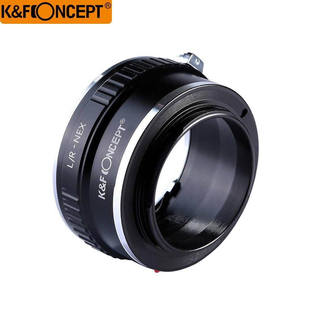 K & F CONCEPT lente anillo adaptador para Leica R lente a Sony E NEX adaptador l/R-NEX