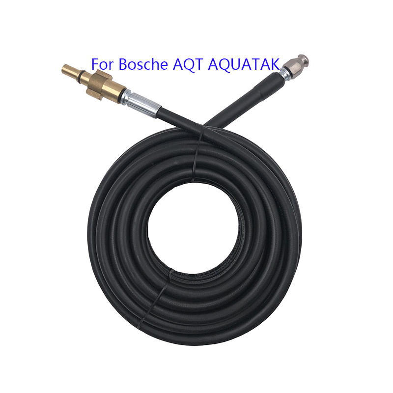 10 15 20 Meters Hot Sale Sewer Drain Water Cleaning Hose For Bosche AQT AQUATAK High Pressure Washers