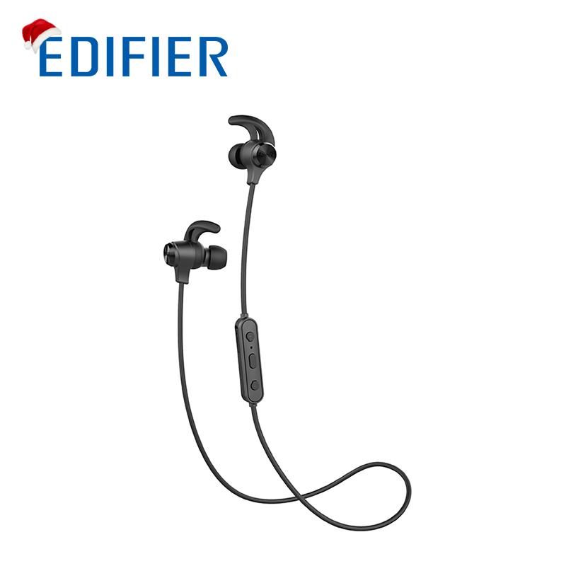 EDIFIER W280BT Bluetooth Earphones In-ear Wireless Headphones IPX4 Enclosure Rating Sports Headset BT V4.1 Dual Battery Design