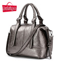 Sacos bolsas mulheres famosas marcas de moda de nova Mulheres Bostonwomen BVLRIGA bolsas de couro pequeno ombro mensageiro sacos sacola