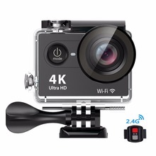 "Real Original H9Pro Super 4k wifi action camera with 2.0"" High Defination Display Waterproof 30M 170D Lens 1050mah Sport Cam"