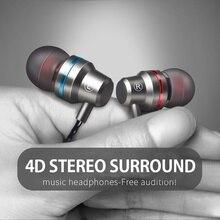 Teamyo Professional Metal Headphone In Ear Wired Earphone 3.