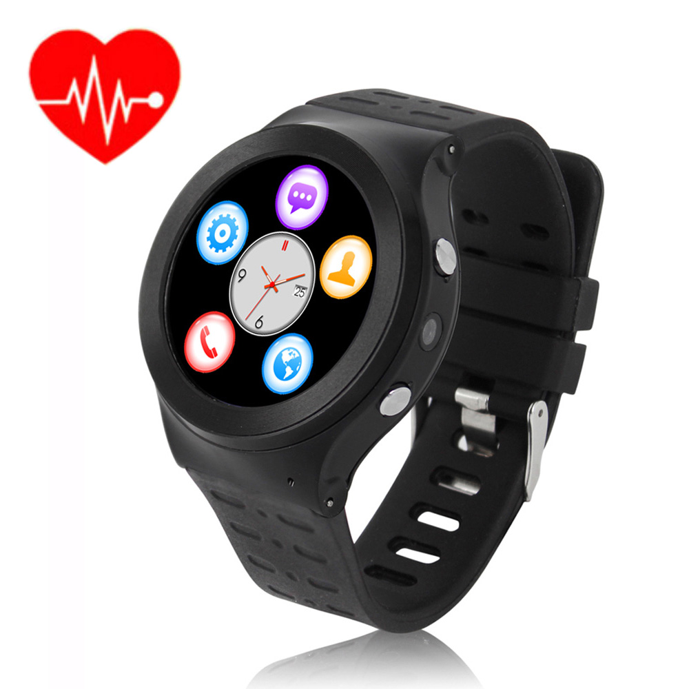 ZGPAX Heart Rate Watch Phone Camera font b SmartWatch b font with SIM 3G Android Watch