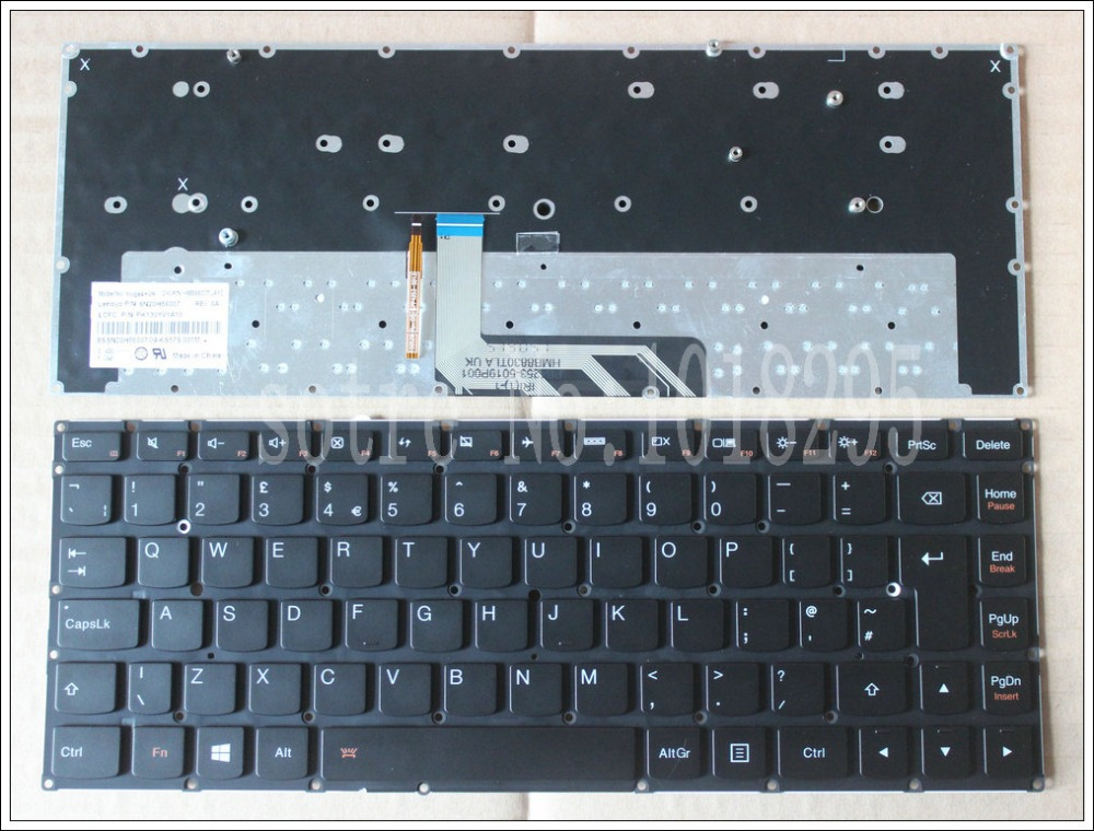 NEW Original for Lenovo ThinkPad Yoga 4 PRO Yoga 900 backlit UK  Laptop Keyboard new original laptop keyboard for lenovo thinkpad t460p t460s us keyboard english with backlit backlight 00ur395 00ur355