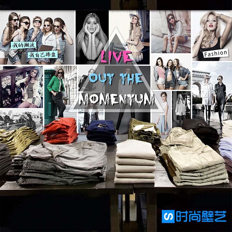 Online get cheap fashion model wallpaper for Cheap wallpaper shops