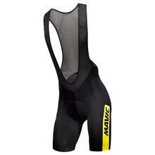 Pro Team Mavic 2018 New Cycling 9D GEL Pad Bib Shorts MTB Quick Dry Breathable Padded Sport Bike Wear Bicycle 6xl cycling