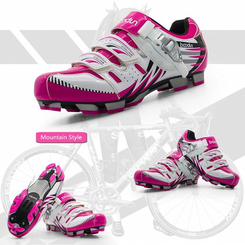 Sapatos de ciclismo respirável sapatos de bicicleta