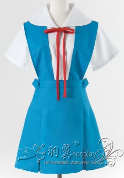 Neon Genesis Evangelion EVA AYANAMI REI / ASUKA Sailor Suit Cosplay Japan Uniforms A016