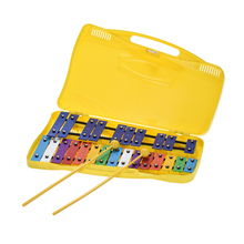 Красочные 25 нот Glockenspiel ксилофон перкуссионный ритм музыкальный образовательный обучающий инструмент игрушка для детей