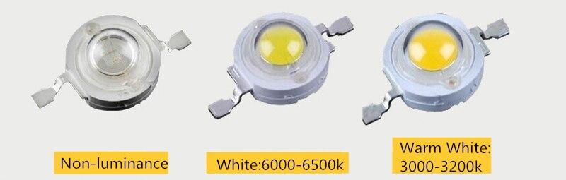 20 шт./лот 1 Вт высокомощный светодиодный светильник с бусинами SMD СВЕТОДИОДНЫЙ s светильник-светодиод 100-110lm светодиодный светильник для пухового светильника Точечный светильник белая лампа