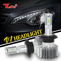 Flip Chip Led Headlight Fog Light DRL Bulbs H4 H13 H15 9007 H7 H1 H3 H11