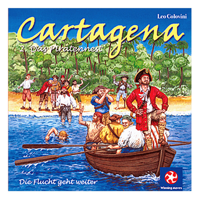 Cartagena 2 The Pirates Nest Board Game 2 5 Players To Play