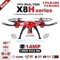 Syma x8hg x8hw rc drone 2.4g 6 ejes fpv rc Quadcopter Con SJ7000 14MP 1080 p Full HD WiFi de La Cámara Profesional Drone
