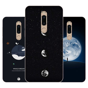 meizu m6t Case,Silicon map view Painting Soft TPU Back Cover for meizu m6t protect Phone cases