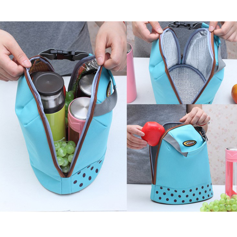 Portable Thick Baby Milk Feeding Bottle Insulation Bags Mummy Outside Warmers lunch Thermal Bag Kid Stroller Accessories Handbag