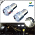 2pcs High Power 5W BA9S 1891 641 BA9 CRE'E  LED Bulbs for Interior Map Dome Light Backup Parking Lights,etc