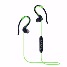 2016 Sports Bluetooth Headphone Sweat Proof Sport Earphone Cordless Earpiece Noise Cancelling Stereo Wireless Headset