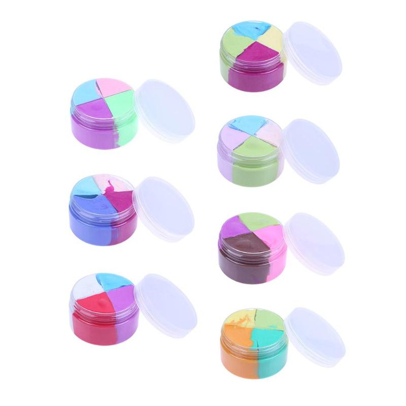 Kids toys Soft Non-sticky DIY Clay Fluffy Floam Slime Stress Relief Scented Sludge Toy Clay Kids Plasticine Gifts