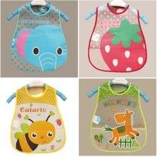 font b Baby b font Bibs EVA Waterproof Lunch Bibs Boys Girls Infants Cartoon Pattern