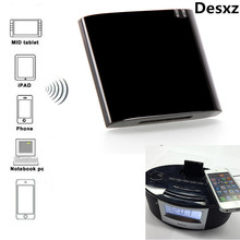 Desxz 30 Pin Mini Bluetooth 4.1+EDR Receiver A2DP & AVRCP Music Class 2 30-Pin Dock Connector for iPad iPod iPhone Apple speaker