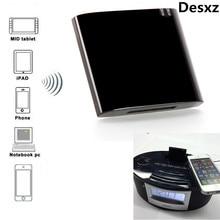 Desxz 30 Pin Mini Bluetooth 4.1+EDR Receiver A2DP & AVRCP Music Class 2 30-Pin Dock Connector for iPad iPod iPhone Apple speaker