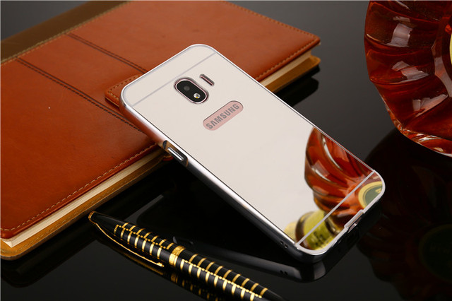 new style f9a26 4431d US $4.74 5% OFF|Aliexpress.com : Buy For Samsung J2 Pro 2018 Case Plating  Metal Frame with Mirror Effect Back Cover Hard Case for Samsung Galaxy J2  ...
