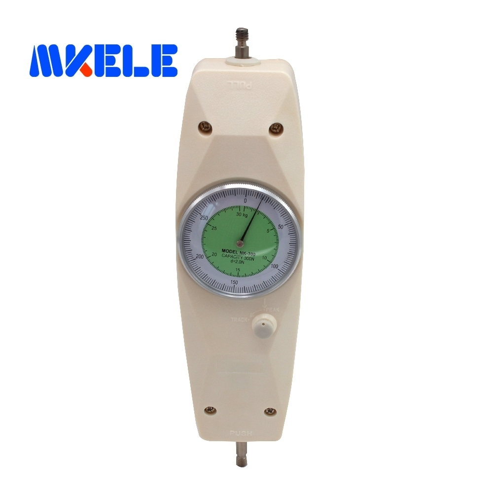 NK-300 300 N Pointer Dynamometer Analog Push Pull Force Gauge Tester MeterNK-300 300 N Pointer Dynamometer Analog Push Pull Force Gauge Tester Meter