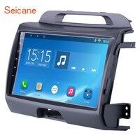Seicane 2 DIN Android 7,1/8,1 сенсорный экран 9 дюймов головное устройство радио аудио gps мультимедийный плеер для 2011 2010 2015 KIA Sportage