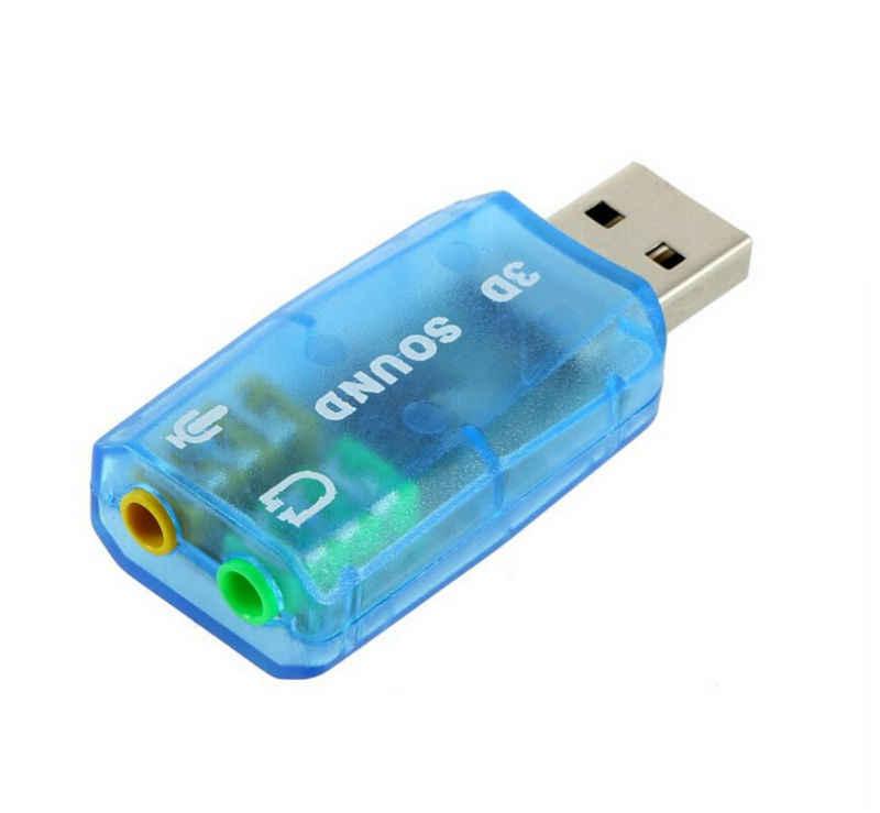Внешняя звуковая карта высокого качества USB 2,0 Микрофон динамик аудио mircophone конвертер Звуковая карта адаптер внешняя звуковая карта гарнитура