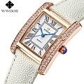 2017 Populares de Lujo famosa marca de Relojes de Pulsera de las mujeres Reloj de Cuarzo Señoras de las Mujeres femeninas Vestido Reloj Relogio Envío Gratis